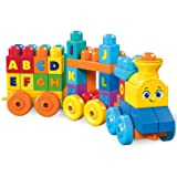 Mega Bloks ABC Musical Train Building Set (Color: Multicolor)
