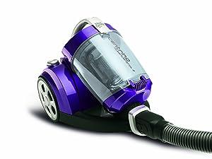 Dirt Devil M29918 Centrino Cleancontrol 2 Bodensauger ohne Beutel, 1800 W, violett / silber Kundenbewertung und Beschreibung