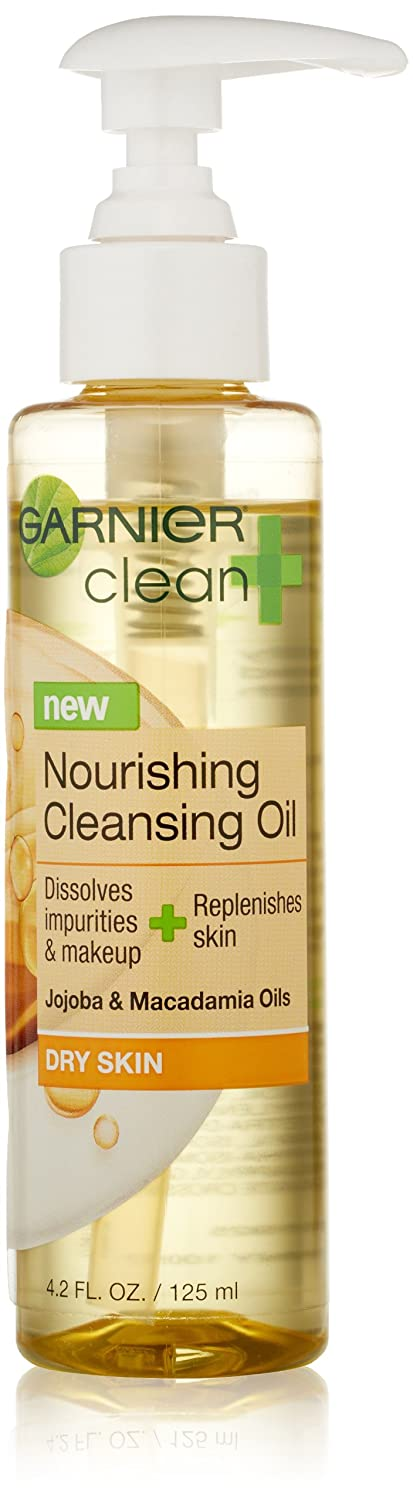 Garnier Clean Cleansing Oil Nourishing 4.2oz Pump goodwind anti wrinkle beauty health skin care face skin rejuvenation red led skin rejuvenation photon treatment skin care