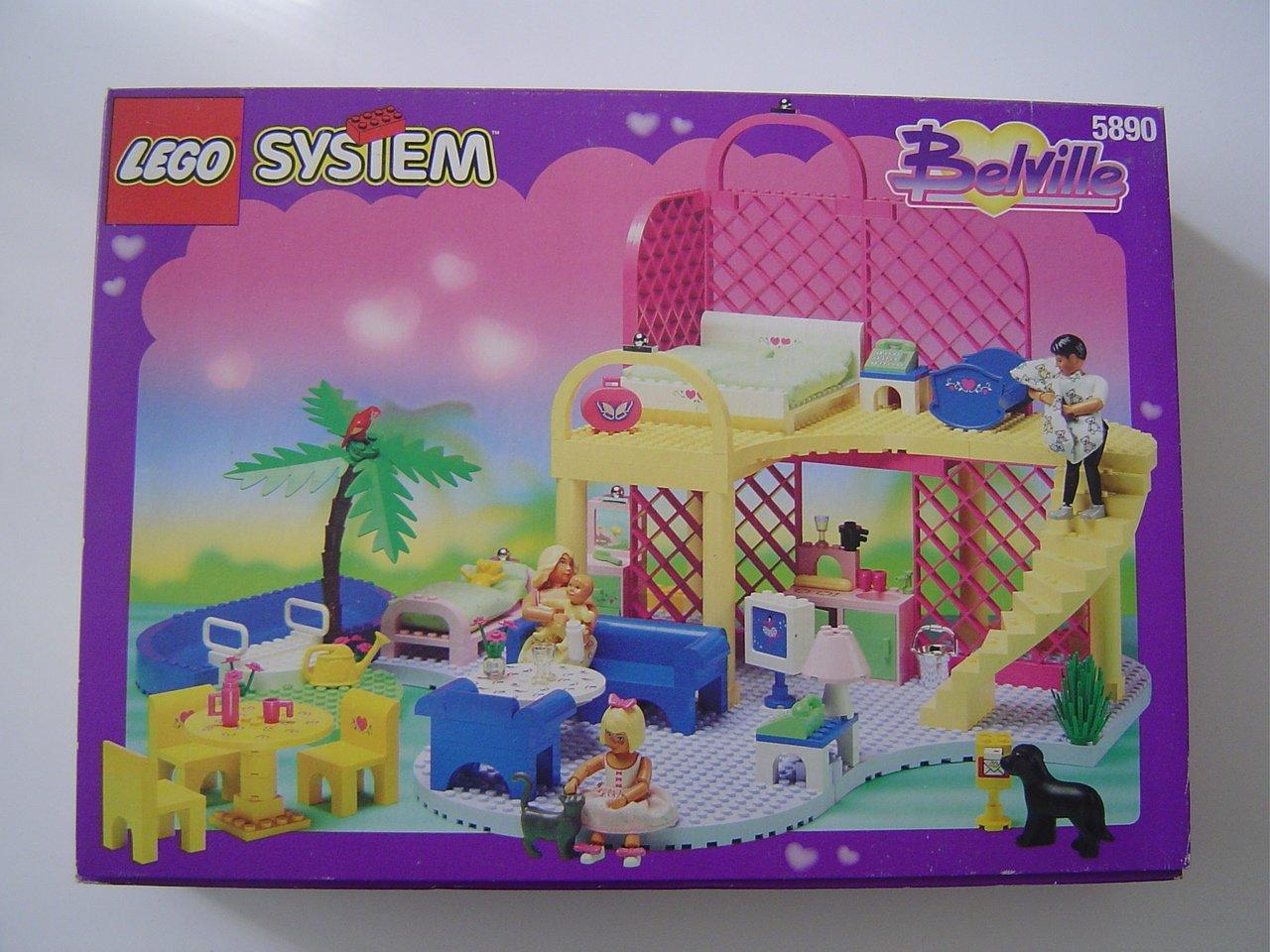LEGO System Belville 5890 Traumhaus günstig