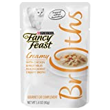 Purina Fancy Feast Broths, 1.4-Ounce, Chicken and Vegetables , 16 Pouches