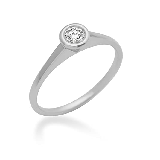 Miore MCS01A-Women's Ring Sterling Silver 925/1000 1.33 g Diamond 0.15 cts