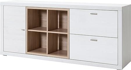 CS Schmalmöbel 89.156.051/21 TV-Möbel / Sideboard, Holz, sibiu lärche / eiche, 171 x 43 x 77 cm