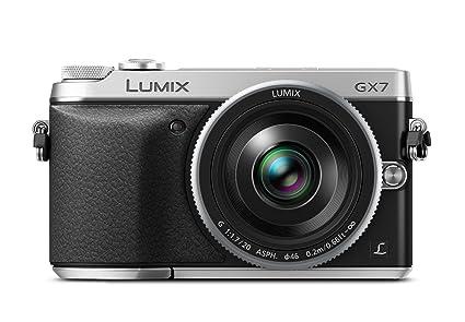 """Panasonic GX7 Appareil photo numérique hybride Ecran 3"""" 16 Mpix Zoom optique 30x Argent + Objectif 10mm"""