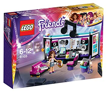 LEGO - 41103 - Friends - Jeu de Construction - Le Studio d'Enregistrement