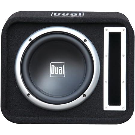 """Dual SBX100 Dual Single 10"""" Woofer Enclosure Vented 500W Max Slot port"""