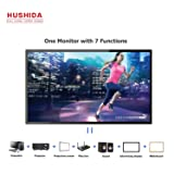 HUSHIDA 55inch Interactive Digital Signage 1080p 10-Point Multi Infrared Touch Screen Commercial Full HD Display Monitor