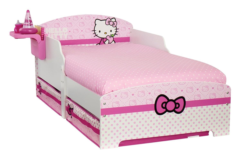 rezension worlds apart 499hek01em hello kitty kinderbett. Black Bedroom Furniture Sets. Home Design Ideas
