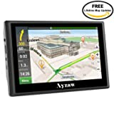 Car GPS Navigation 7-inch Portable Vehicle Navigator 720 with Voice Reminding,Driver alert,Lifetime Maps