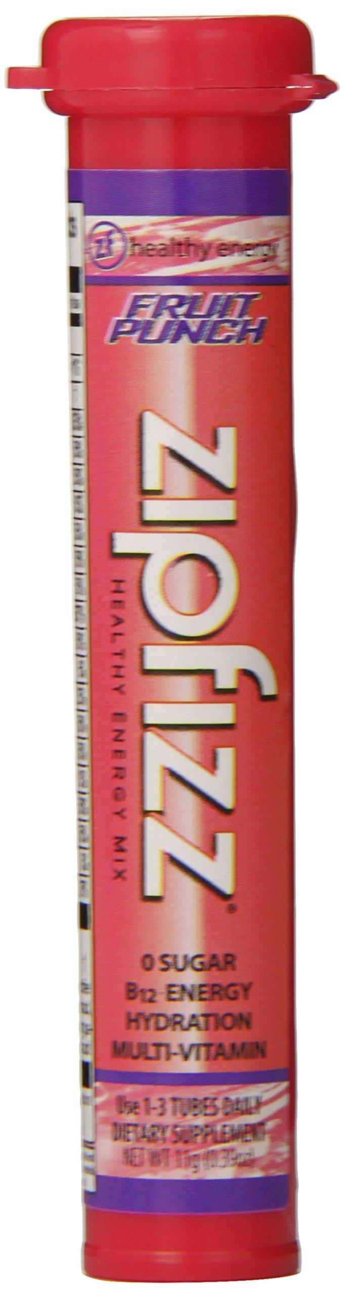 Zipfizz Healthy Energy Drink Mix Fruit Punch 20 Count