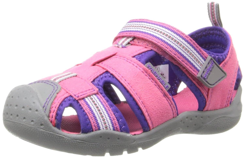 pediped Flex Sahara Sandal (Toddler/Little Kid) oshkosh b gosh hava g athletic sandal toddler little kid