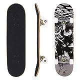 Hikole Adult Kids Skateboard Complete - Profession Wood Skate Board 31