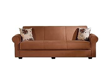 Elita Sofa Sleeper - Rainbow Brown
