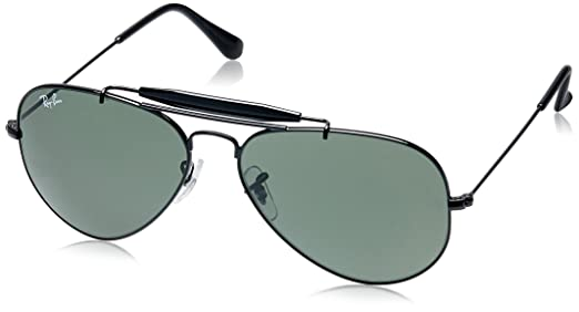 ray ban aviator sunglasses black 0rb3129iw022858