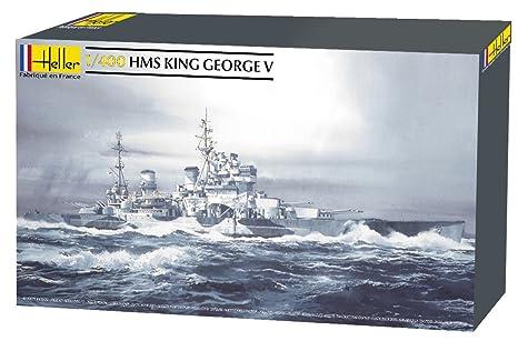 Heller - 81088 - Construction Et Maquettes - Hms King George V - Echelle 1/400ème
