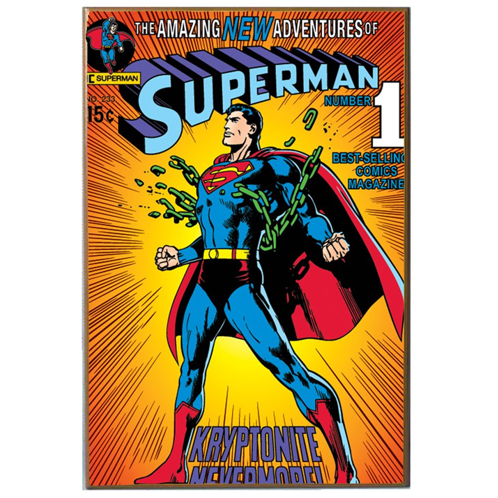 Dc Comics Superman Breaking Chains V Wood Wall Art 13 Quot By