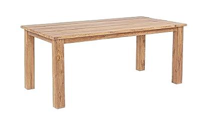 Bizzotto Santiago Table FSC, bois, marron, 180x 90x 78cm