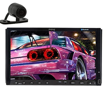 En el tablero de Hot Modelo Doble 2 Receptor DIN EN el tablero de 7 pulgadas TACTIL stšŠršŠo BT d'šŠcran de voiture Bluetooth Radio DVD Reproductor de MP3 Mp3 SD USB doubles RDS LCD 2 DIN numšŠrique
