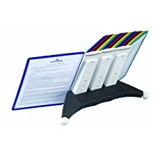 Durable Sherpa Desk Reference System Extension Set with Border Panels of Assorted Colors (DBL569800)