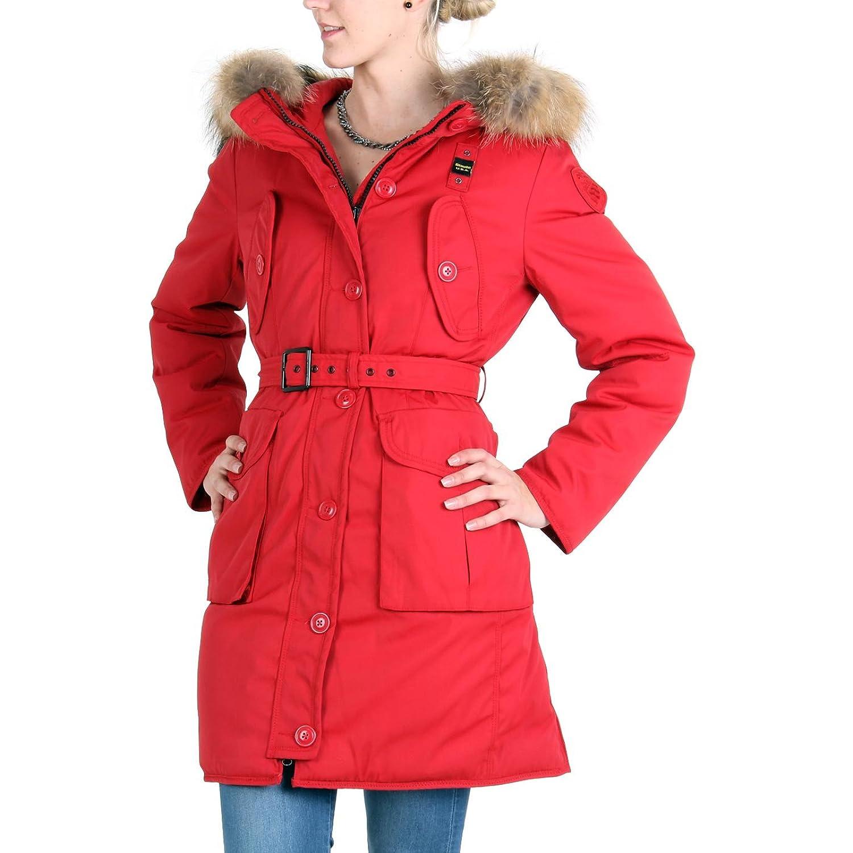 BLAUER USA Damen Winter Daunenparka Red BLD0439 kaufen