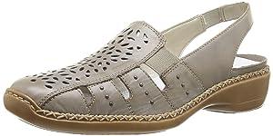 Rieker 41390/62, Chaussures de ville femme   Commentaires en ligne plus informations