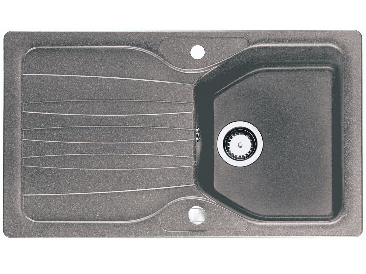 Franke Calypso COG 611 Steingrau Granit Küchenspüle Spülbecken EInbauspüle Grau  BaumarktÜberprüfung und Beschreibung