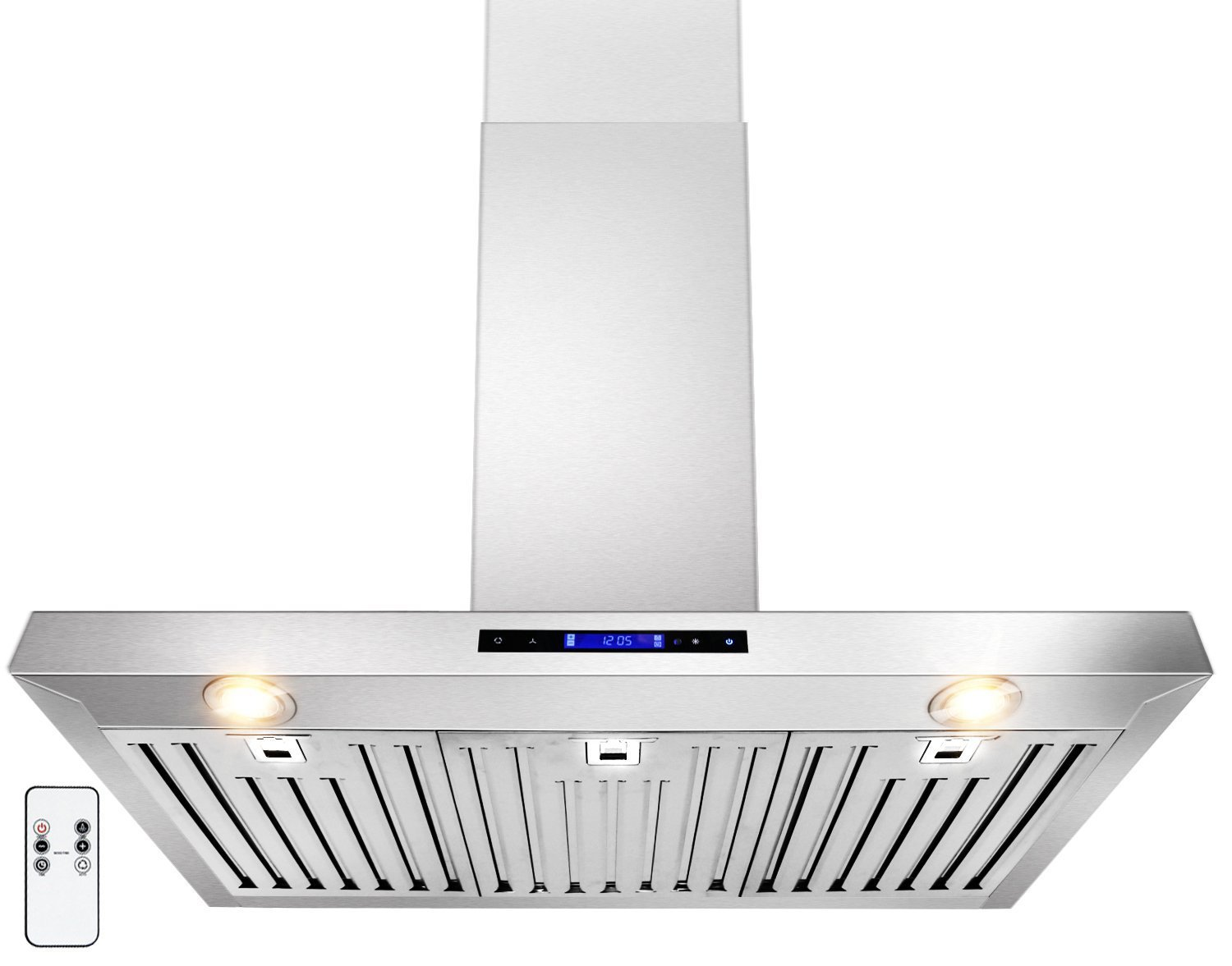 "Golden Vantage 30"" Wall Mount Stainless Steel Range Hood With Remote 760CFM Kitchen Vent"