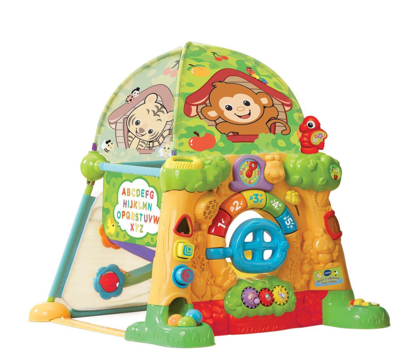 Vtech 147305 jouet de premier age magi cabane - Cabane bebe interieur ...