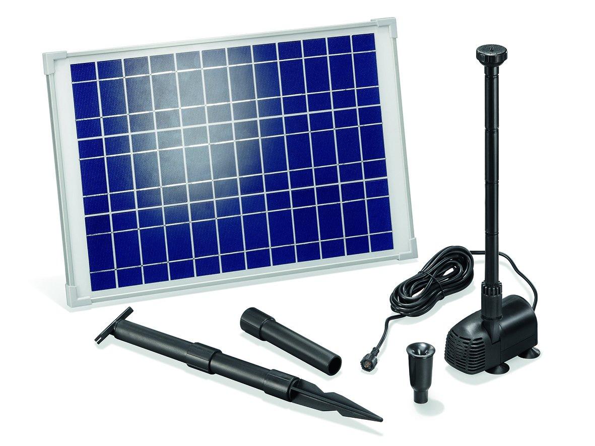 Solar Teichpumpe 20 Watt Solarmodul 1350 l/h Förderleistung 1,9 m Förderhöhe Komplettset Gartenteich  GartenKundenbewertung und Beschreibung