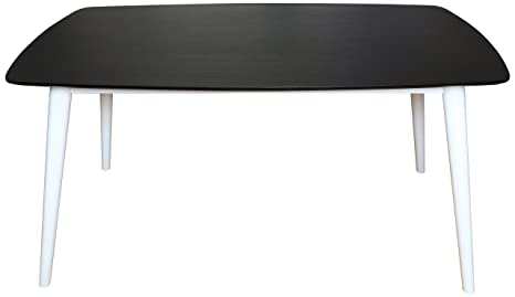 Premier Housewares Dining Table - Black/White