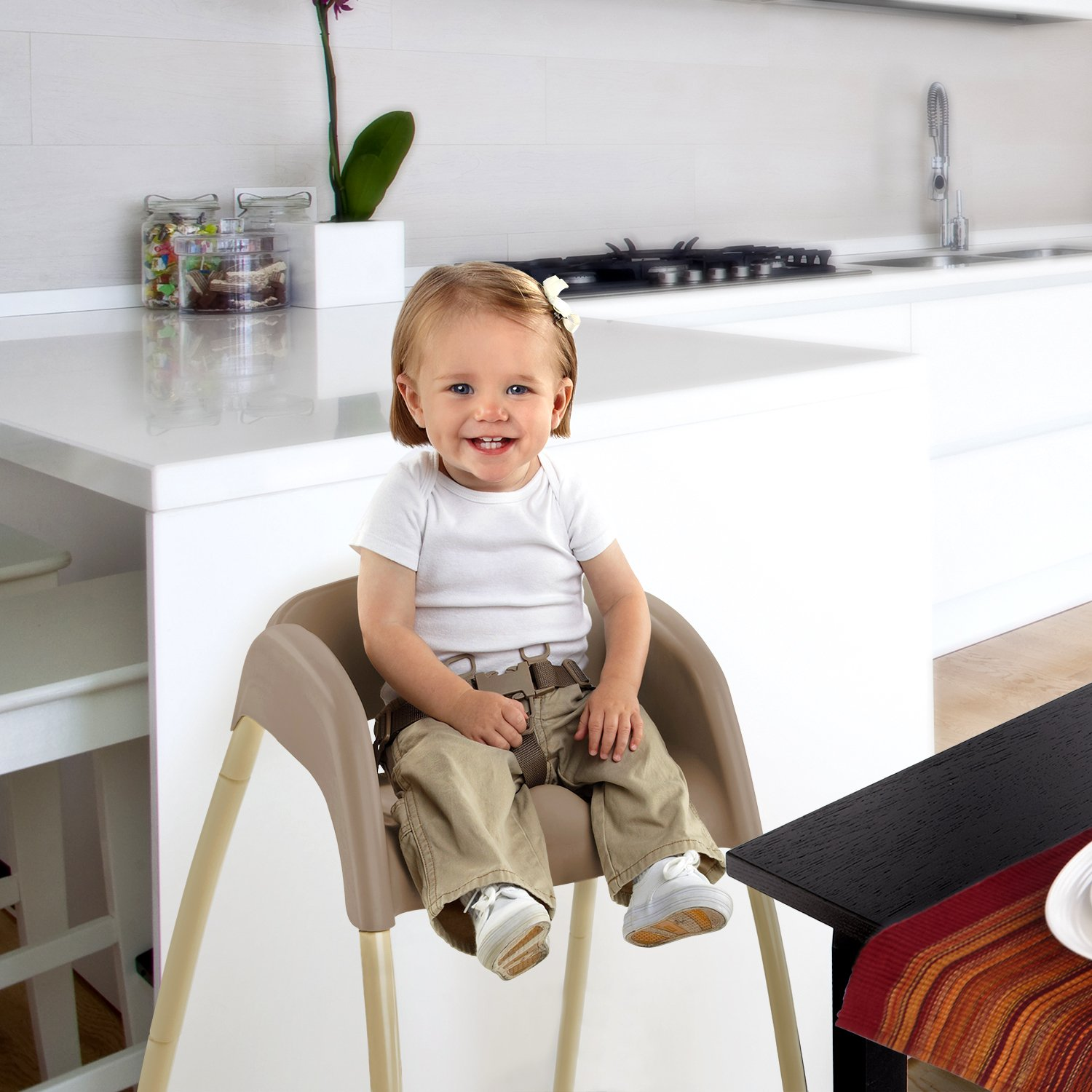Baby High Chair Seat 3 In 1 Toddle Infant Booster Feeding