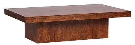 Wohnling WL1.215 Sheesham Couchtisch, 120 x 70 cm Massivholz