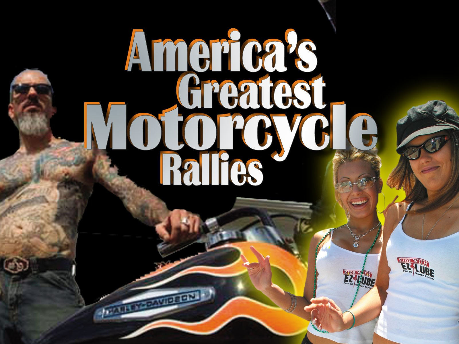 America's Greatest Motorcycle Rallies on Amazon Prime Video UK