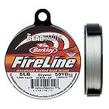 Fireline XCR-1278 Crystal Braided Beading Thread, .006