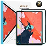 Ztotop Screen Protector for iPad Pro 11-inch 2018 (2 Pack), High Definition/Scratch Resistant/Face ID and Apple Pencil Compatible 9H Tempered Glass Screen Protector for iPad Pro 11 Inch 2018 (Color: Clear)