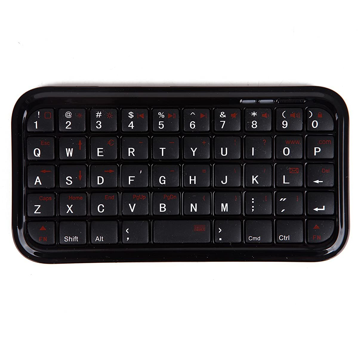 HDE Bluetooth 3.0 Keyboard Mini Travel Size Wireless Pocket Keypad for Sony Playstation PS4/Tablet/Smartphones