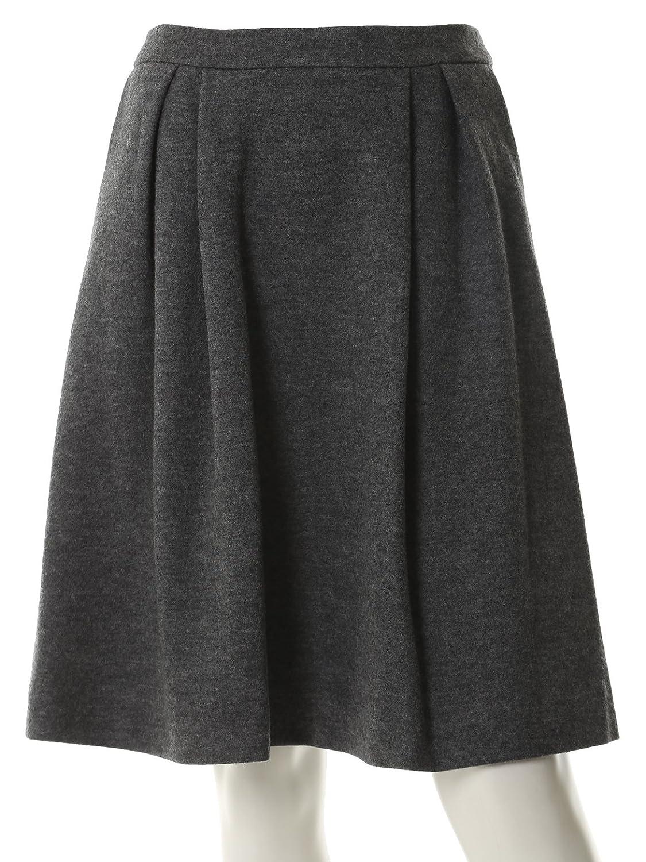 (クリアインプレッション)Clear Impression 圧縮ウールフレアスカート : 服&ファッション小物通販 | Amazon.co.jp
