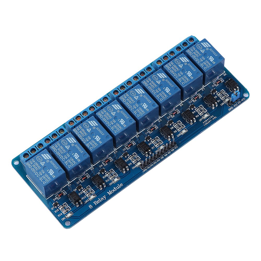 5V 8-Channel Relay Module Switch Board for Arduino AVR PIC ARM DSP PLC MSP430 module plc a1sg62