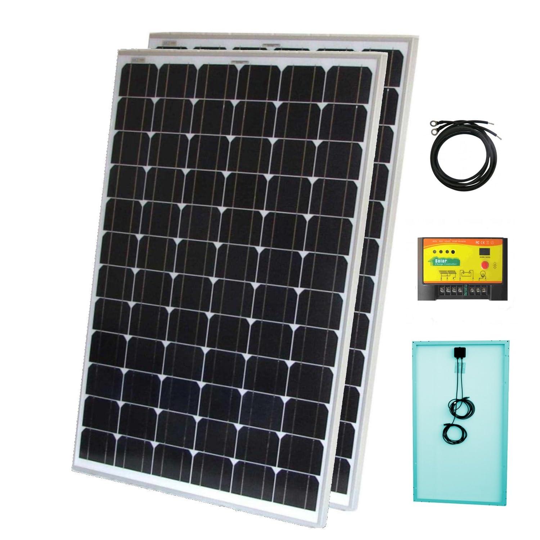 panel solar barato amazon