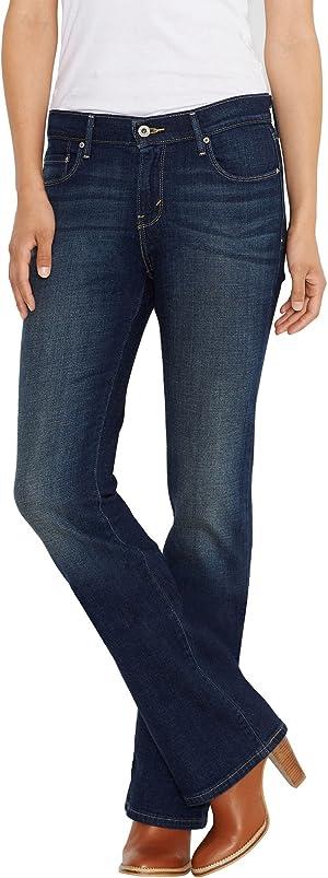 Levi's Women's 515 Bootcut Jean, Undercurrent, 29 (US 8) L