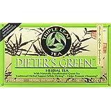 Triple Leaf Teas - Dieter's Green Herbal Tea, 20 bag (Tamaño: 20)