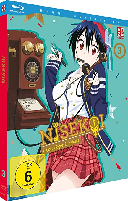 Nisekoi, Volume 3 (Blu-ray)