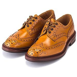 [ トリッカーズ ] Tricker'sバートン ウィングチップ ダイナイトソール 5633 Bourton Dainite sole メンズ 靴 ブローグシューズ レザー 本革