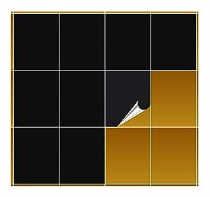 FoLIESEN  Fliesenaufkleber  schwarz glänzend  20cm x 25cm  200 Stück  BaumarktKundenbewertungen