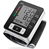 Blood Pressure Monitor Fully Automatic Accurate Wrist Blood Pressure Monitor with Wristband Automatic Wrist Electronic Blood Pressure Monitor Perfect for Health Monitoring (Color: Blood Pressure Monitor)