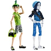 Monster High Deuce Gorgon & Invisi Billy Doll Bundle