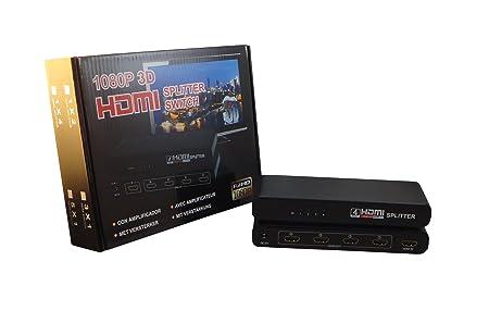 Power Star DS-SPLIT-HDMI-4 Splitter Répartiteur HDMI 1.4 4 Ports