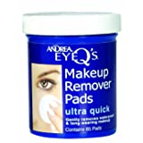 Andrea Eye Q's Ultra Quick Eye Makeup Remover Pads, 65-Count (Pack of 3) (Tamaño: (3 Pack))