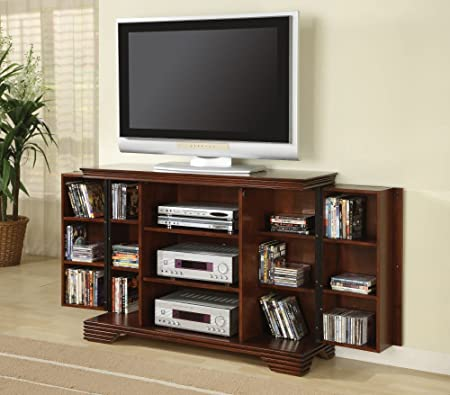 Coaster Home Furnishings 700636 Casual TV Console, Brown