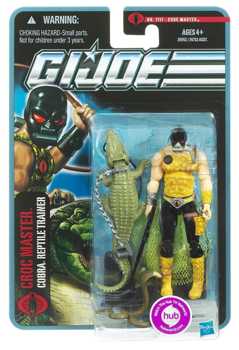 Hasbro G.I. Joe Croc Master – Cobra Reptile Trainer – The Pursuit of Cobra – Actionfigur günstig als Geschenk kaufen